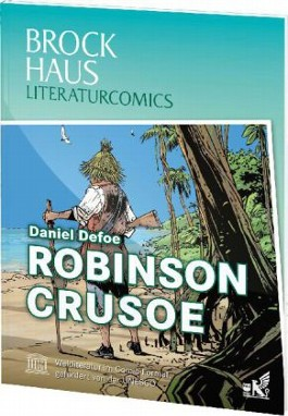 Brockhaus Literaturcomics Robinson Crusoe