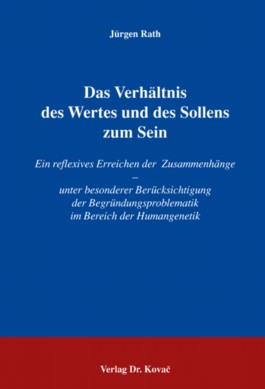 Das Verhltnis des Wertes und des Sollens zum Sein