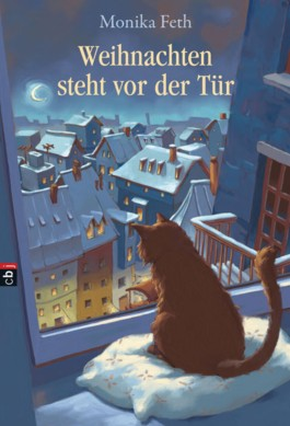 Weihnachten steht vor der Tr